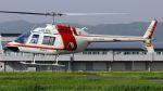 航空見聞録さんが、八尾空港で撮影した朝日航洋 206B JetRanger IIIの航空フォト(写真)