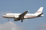 Gulf650Erさんが、成田国際空港で撮影したグローバル・ジェット・ルクセンブルク A319-115X CJの航空フォト(写真)