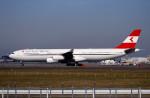 トロピカルさんが、成田国際空港で撮影したオーストリア航空 A340-313Xの航空フォト(写真)