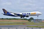 トロピカルさんが、成田国際空港で撮影したアトラス航空 747-87UF/SCDの航空フォト(写真)