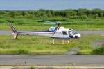 Gambardierさんが、岡南飛行場で撮影した四国航空 AS350B Ecureuilの航空フォト(写真)