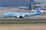 NH642さんが、仁川国際空港で撮影した大韓航空 747-8B5の航空フォト(写真)