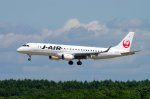 kitayocchiさんが、新千歳空港で撮影したジェイ・エア ERJ-190-100(ERJ-190STD)の航空フォト(写真)