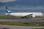 キイロイトリ1005fさんが、関西国際空港で撮影したキャセイパシフィック航空 777-367の航空フォト(写真)