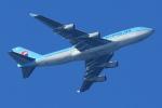まさとしさんが、関西国際空港で撮影した大韓航空 747-4B5の航空フォト(写真)