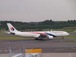 セッキーさんが、成田国際空港で撮影したマレーシア航空 A330-323Xの航空フォト(写真)