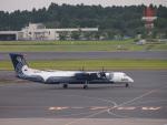 セッキーさんが、成田国際空港で撮影したオーロラ DHC-8-402Q Dash 8の航空フォト(写真)
