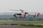 あきらっすさんが、調布飛行場で撮影した朝日航洋 BK117C-2の航空フォト(写真)
