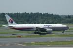 flying-dutchmanさんが、成田国際空港で撮影したマレーシア航空 777-2H6/ERの航空フォト(写真)
