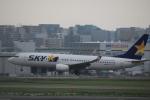 msrwさんが、福岡空港で撮影したスカイマーク 737-8FHの航空フォト(写真)