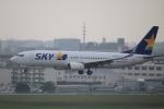msrwさんが、福岡空港で撮影したスカイマーク 737-82Yの航空フォト(写真)