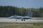くーぺいさんが、千歳基地で撮影した航空自衛隊 F-15DJ Eagleの航空フォト(写真)