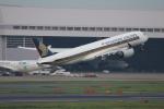 サリーちゃんのパパさんが、羽田空港で撮影したシンガポール航空 A350-941XWBの航空フォト(写真)