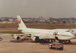 よしポンさんが、伊丹空港で撮影した日本航空 747-146の航空フォト(写真)