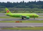 よんすけさんが、成田国際空港で撮影したS7航空 A320-214の航空フォト(写真)
