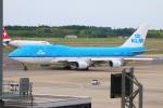 zero1さんが、成田国際空港で撮影したKLMオランダ航空 747-406の航空フォト(写真)