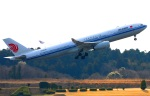 Tomo_ritoguriさんが、成田国際空港で撮影した中国国際航空 A330-343Xの航空フォト(写真)
