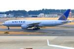 Tomo_ritoguriさんが、成田国際空港で撮影したユナイテッド航空 777-224/ERの航空フォト(写真)