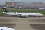 JA882Aさんが、羽田空港で撮影したルフトハンザドイツ航空 A340-642の航空フォト(写真)