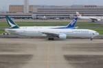 JA882Aさんが、羽田空港で撮影したキャセイパシフィック航空 777-367の航空フォト(写真)