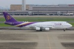 JA882Aさんが、羽田空港で撮影したタイ国際航空 747-4D7の航空フォト(写真)