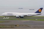 JA882Aさんが、羽田空港で撮影したルフトハンザドイツ航空 747-830の航空フォト(写真)