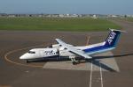 雪虫さんが、札幌飛行場で撮影したエアーニッポンネットワーク DHC-8-314Q Dash 8の航空フォト(写真)