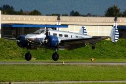 Tomo-Papaさんが、ミリテール・ド・ペイエルヌ飛行場で撮影したアメリカ個人所有 D18Sの航空フォト(写真)