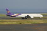 せせらぎさんが、中部国際空港で撮影したタイ国際航空 777-3D7の航空フォト(写真)