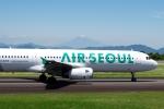 zettaishinさんが、静岡空港で撮影したエアソウル A321-231の航空フォト(写真)