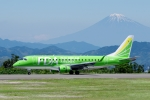 zettaishinさんが、静岡空港で撮影したフジドリームエアラインズ ERJ-170-200 (ERJ-175STD)の航空フォト(写真)