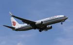 MOHICANさんが、福岡空港で撮影した中国国際航空 737-89Lの航空フォト(写真)