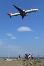 まさとしさんが、羽田空港で撮影した日本航空 777-346の航空フォト(写真)