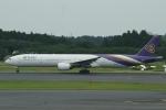 むこいちさんが、成田国際空港で撮影したタイ国際航空 777-3D7の航空フォト(写真)