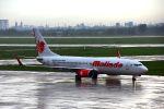 まいけるさんが、タンソンニャット国際空港で撮影したマリンド・エア 737-8GPの航空フォト(写真)