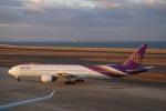 Oryojiさんが、中部国際空港で撮影したタイ国際航空 777-3D7の航空フォト(写真)