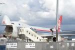 B747‐400さんが、小松空港で撮影したカーゴルクス 747-8R7F/SCDの航空フォト(写真)