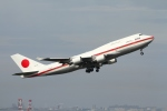 on-chanさんが、羽田空港で撮影した航空自衛隊 747-47Cの航空フォト(写真)