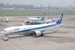 たかきさんが、羽田空港で撮影した全日空 777-381/ERの航空フォト(写真)