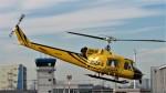 Ocean-Lightさんが、東京ヘリポートで撮影したアカギヘリコプター 204B-2(FujiBell)の航空フォト(写真)