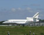 Gulf650Erさんが、成田国際空港で撮影したTAG アヴィエーション Falcon 900EXの航空フォト(写真)