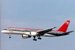 菊池 正人さんが、ロサンゼルス国際空港で撮影したノースウエスト航空 757-251の航空フォト(写真)