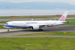 きゅうさんが、関西国際空港で撮影したチャイナエアライン A350-941XWBの航空フォト(写真)