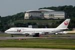 kaz-bbさんが、福岡空港で撮影した日本航空 747-346の航空フォト(写真)