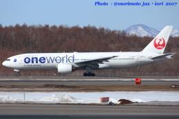 いおりさんが、新千歳空港で撮影した日本航空 777-246の航空フォト(写真)