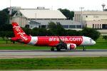 まいけるさんが、ドンムアン空港で撮影したタイ・エアアジア A320-251Nの航空フォト(写真)