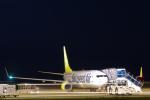 ShiShiMaRu83さんが、神戸空港で撮影したソラシド エア 737-81Dの航空フォト(写真)