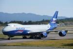 B747‐400さんが、小松空港で撮影したシルクウェイ・ウェスト・エアラインズ 747-83QFの航空フォト(写真)