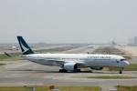 出戻りさんが、関西国際空港で撮影したキャセイパシフィック航空 A350-941XWBの航空フォト(写真)