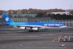 けいとパパさんが、成田国際空港で撮影したエア・タヒチ・ヌイ A340-313Xの航空フォト(写真)